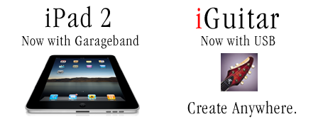 iGuitar Workshop connect to iPad